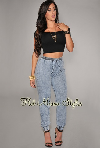 New Ideas About Denim Joggers Outfit On Pinterest  Denim Joggers Women