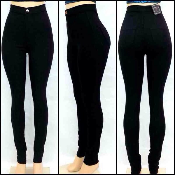 pants black high waisted pants high waisted jeans jeans black skinny jeans