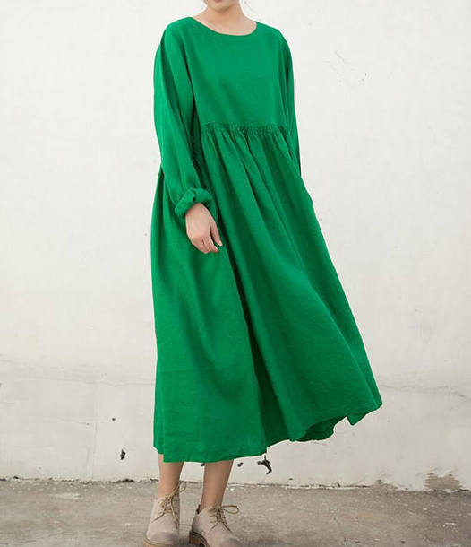 dress green long dress greens long dress