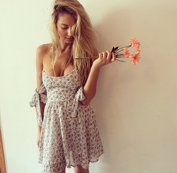 dress floral sundress daydreams