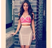 bandage,style,classy,sexy dress,party dress,prom dress,summer outfits,summer dress,beach,bandage skirt,pink light,top,t-shirt,bustier,corset top,streetwear,streetstyle,bandage dress,denim shirt,skinny,bodycon dress,skater skirt,cute skirt