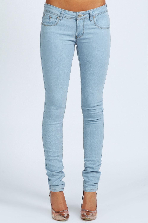 WOW Bleach Super Skinny Jeans