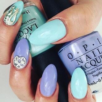 mint lilac nail accessories nail polish