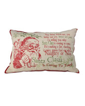 santa claus,holiday season,pillow,christmas,holiday home decor