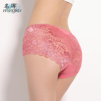 30df57686 Women underwear briefs sexy women s Panties calcinha full transparent lace  seamless string plus size women underwear ...
