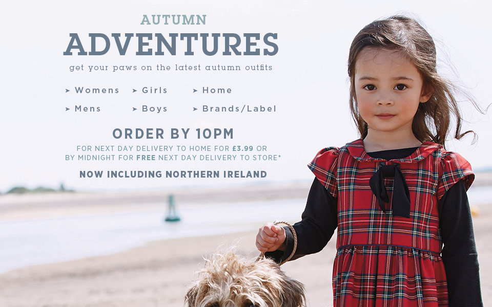 Next Official Site: Womens & Mens Fashion, Kids Clothes & Homeware