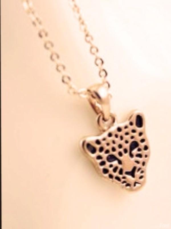 jewels necklace jaguar gold black pretty