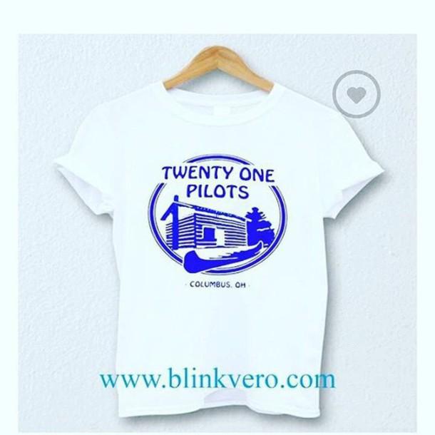 Shirt Camp Blinkvero 28719 T Shirt Camping Twenty One Pilots