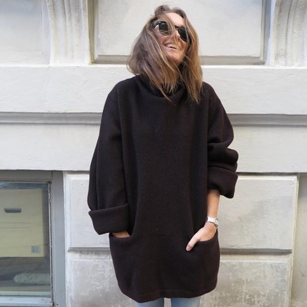 romper pullover pullover hoodie black nice jacket. Black Bedroom Furniture Sets. Home Design Ideas