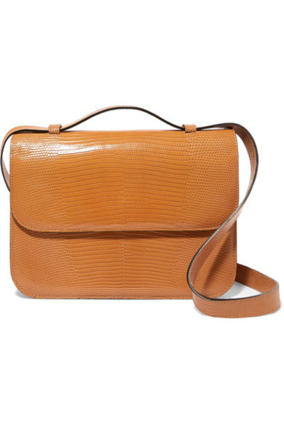 Hunting Season - Lizard Shoulder Bag - Tan