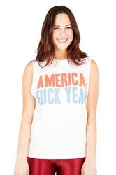 America unisex muscle tee