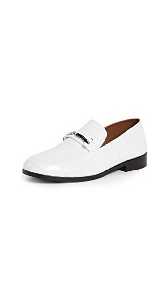 NewbarK loafers white shoes
