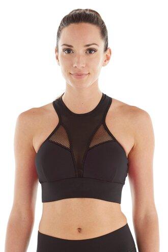 top sports bra activewear black top
