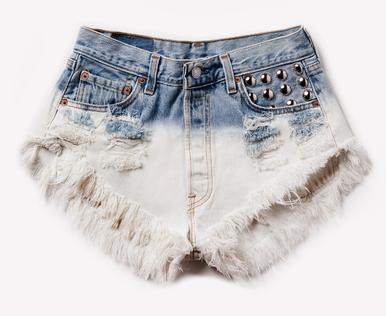 Hipster Ombre 320 Shorts - Arad Denim