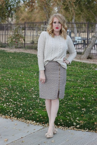 fashion flirtation blogger sweater skirt shoes