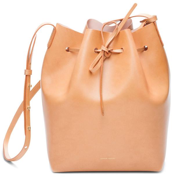 Mansur Gavriel Cammello Bucket Bag - Rosa