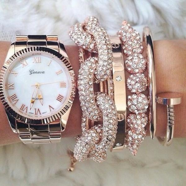 jewels watch geneva jewelry bracelets jewelry bracelets boho boho jewelry body silver jewelry gold jewelry hand jewelry gold silver ring