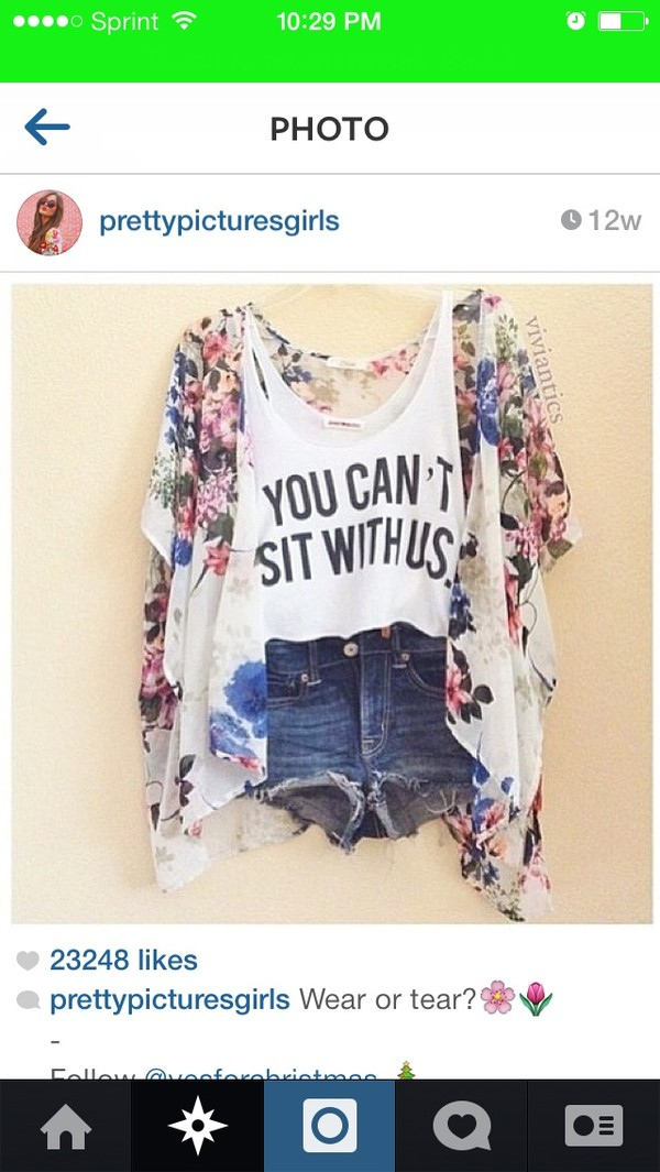 shirt forever young floral white hipster t-shirt cute cut offs jacket shorts sweater