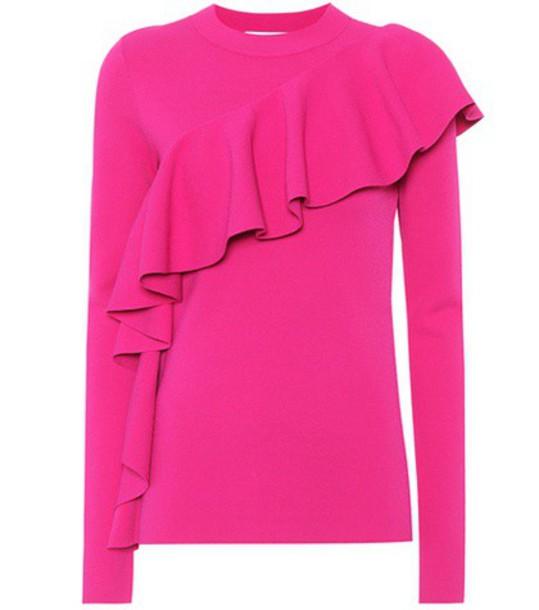 Diane Von Furstenberg sweater pink
