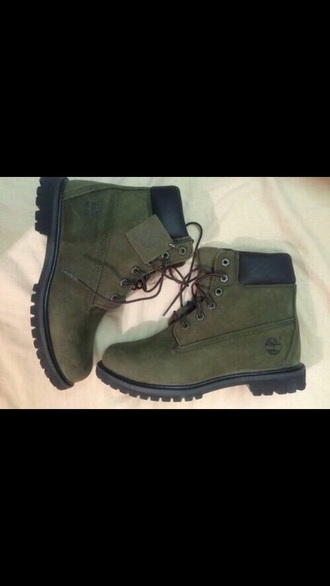 shoes timberland olive green forest green women's suede booties