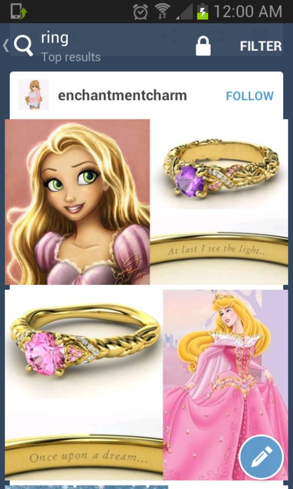 jewels ring disney diamonds jewelry jewelry purple