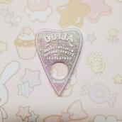 jewels,pastel,cute,pendant,sparkle,kawaii,goth,ouija board,ouija skate board,pastel goth,harajuku,creepy
