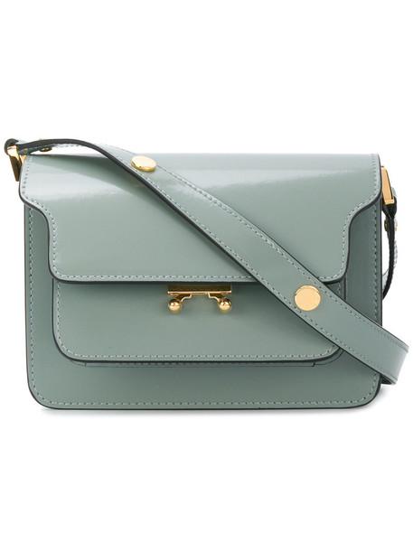 MARNI mini women bag shoulder bag leather grey