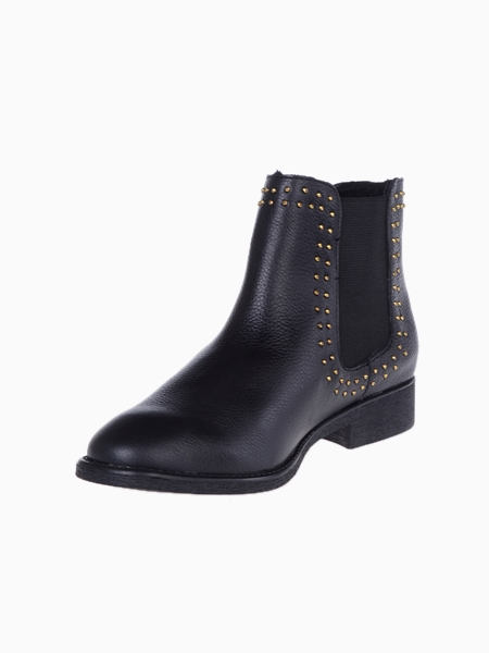Stud Chelsea Ankle Boots | Choies