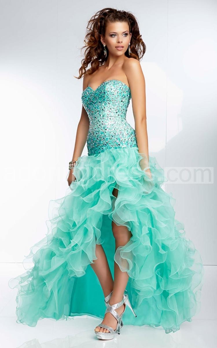 and Flirty Dancing Dress 2015 Ruffled Skirt Pretty Formal Dress ...