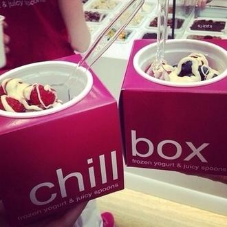 jewels pink ice cream box