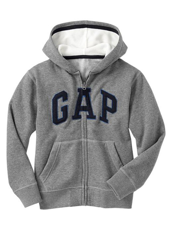 gap arch logo zip hoodie boys tops 681929003 top
