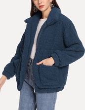jacket,girly,girl,girly wishlist,blue,teddy jacket,teddy bear coat,comfy