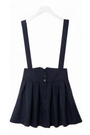 Flower High Waist Skirt - OASAP.com