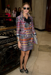 coat,fall outfits,fashion week 2014,olivia palermo,shoes