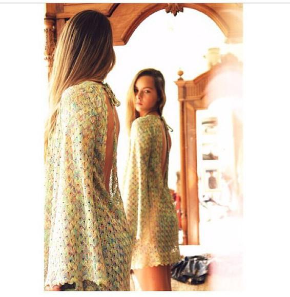 dress boho dress bohemian dress summer dress