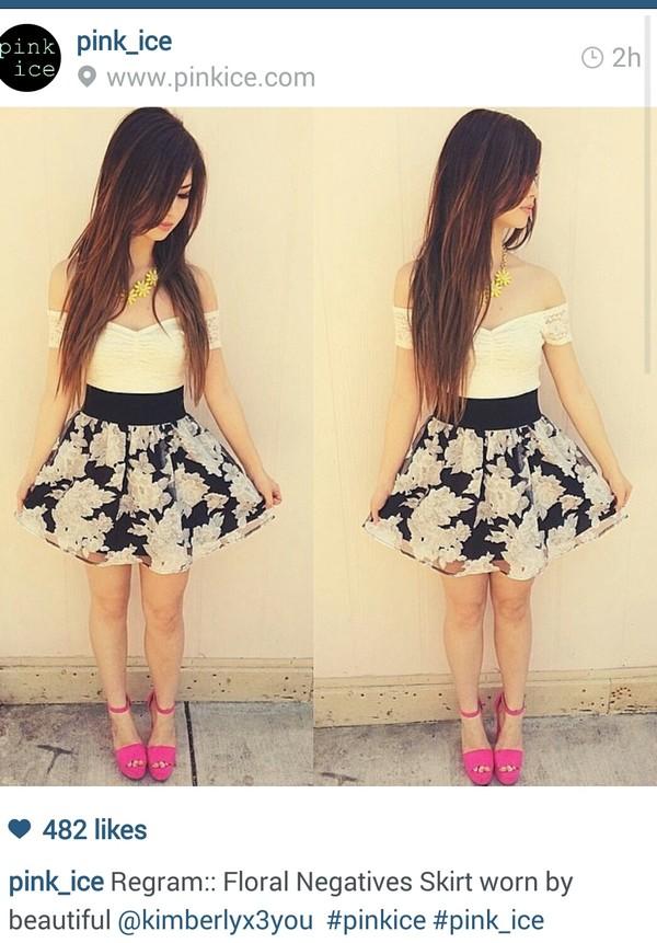 skirt skirt high waisted