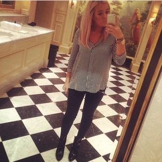 blouse stripes lottie tomlinson