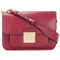 Michael michael kors - sloan editor shoulder bag - women - leather - one size, red, leather
