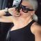 Oversized rivet celebrity sunglasses sexy