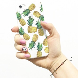 phone cover yeah bunny pineapple pineapple print iphone case iphone nails