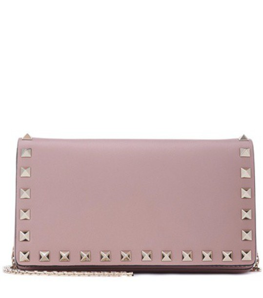 Valentino bag shoulder bag leather purple