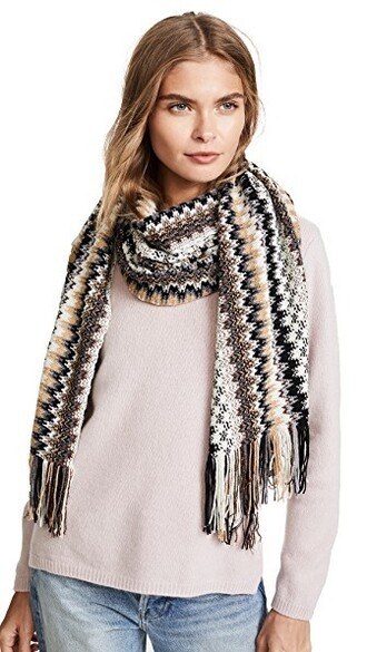 scarf camel