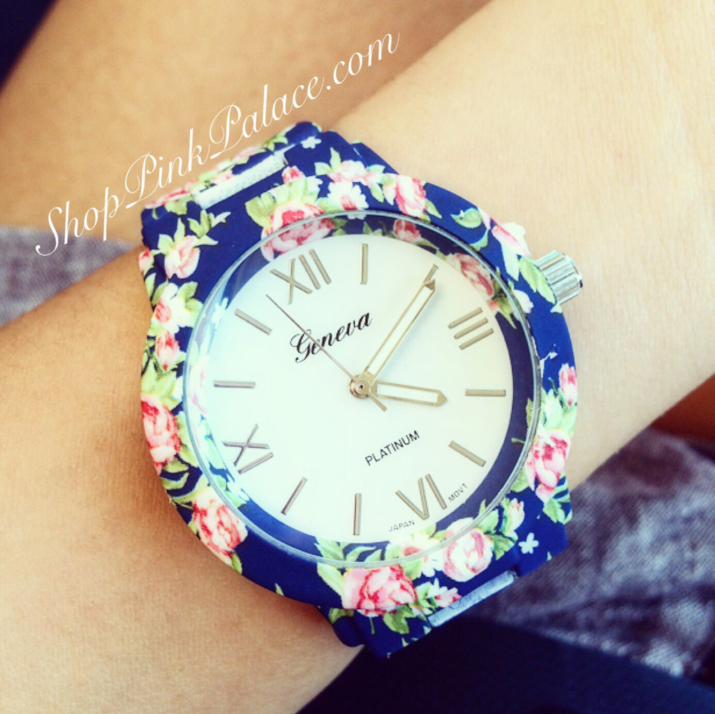 Floral Link Watch