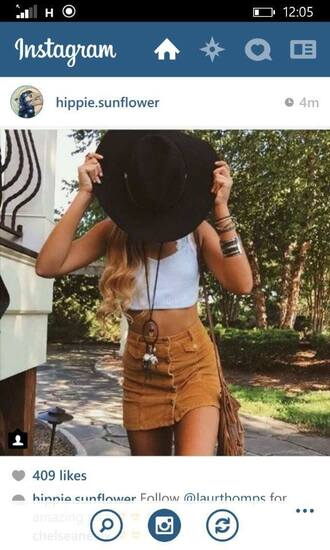 skirt boho dreamcatcher tan blonde hair beautiful model summer crop tops jewels