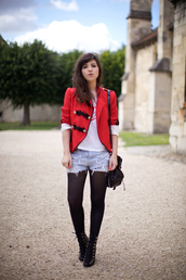 jacket,red,betty
