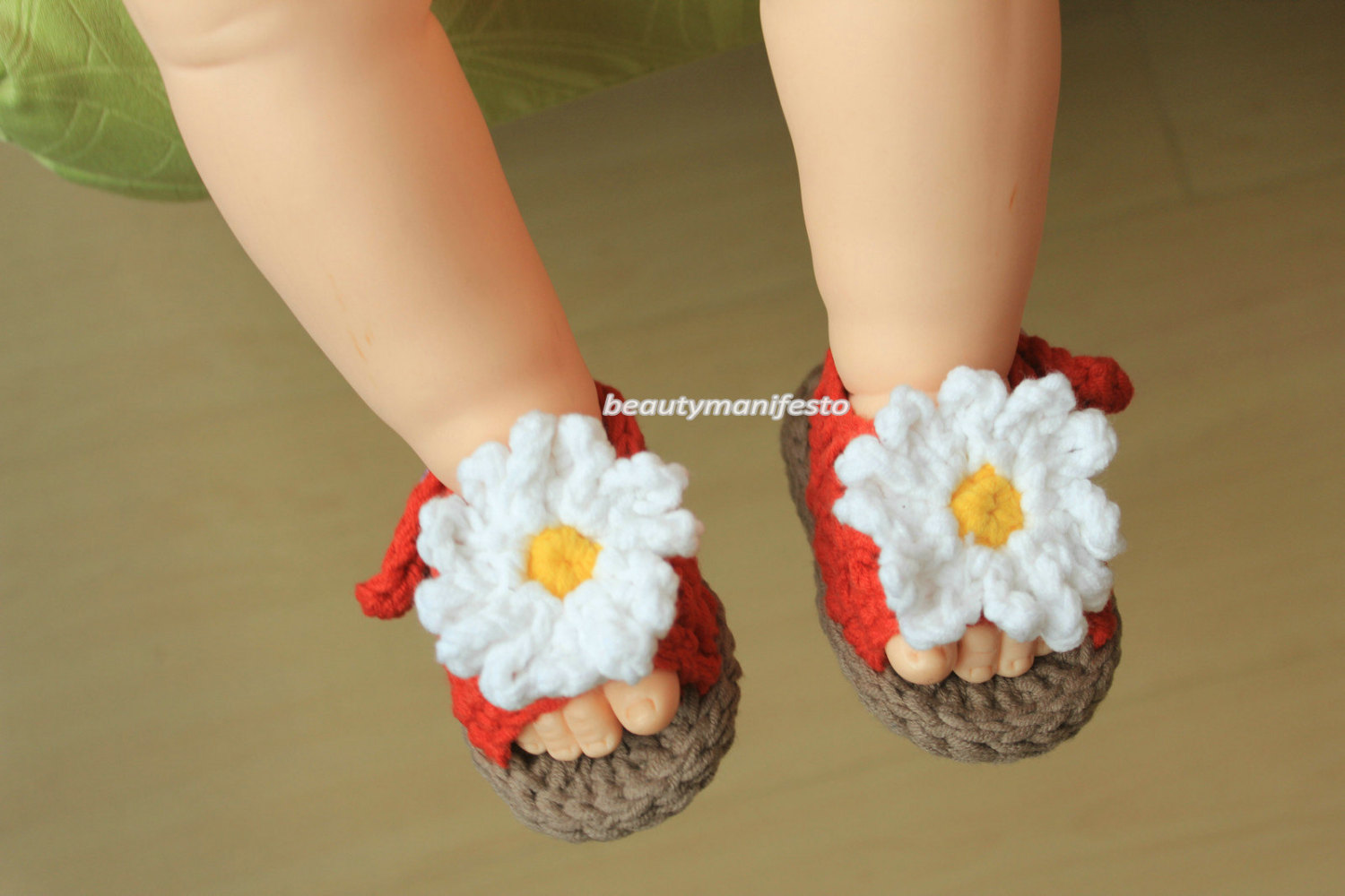 Baby sandals crocheted shoes Baby shoes summer sandals