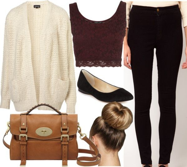 top fall outfits outfit cardigan burgundy shirt