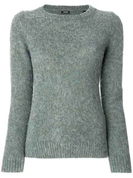 ASPESI jumper women wool green sweater