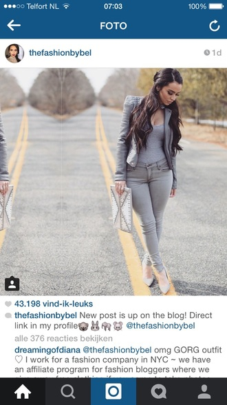 jacket grey leather jacket jeans all grey outfit monochrome outfit