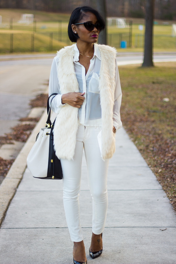 the daileigh jacket pants blouse bag shoes sunglasses